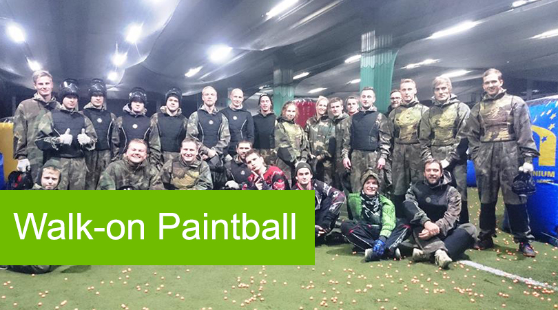 Walk-on Paintball Games